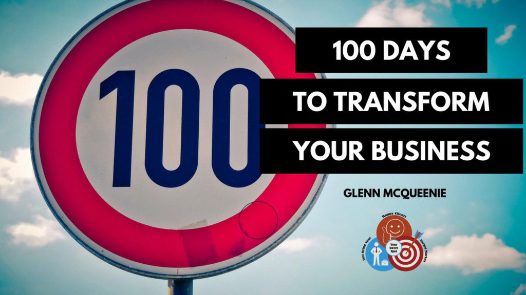 100 days to transform your business