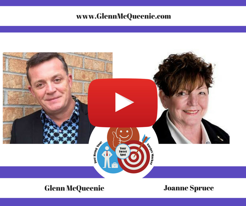 How do you break into a new market after relocating? Listen as I coach Joanne Spruce