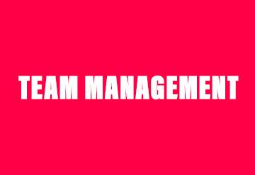 Team management